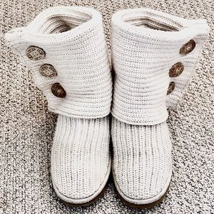 Ugg Classic Cardy knit boot ((SOLD))